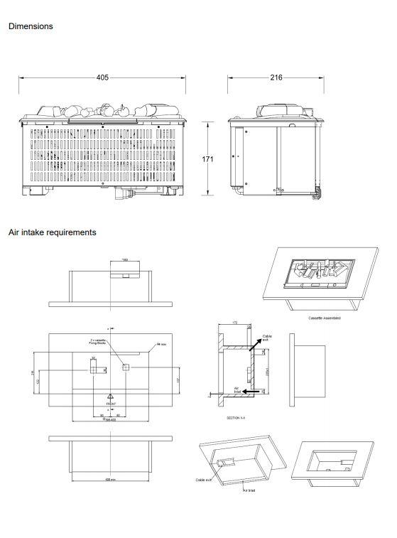 Dimplex Cassette 400 Opti-Myst