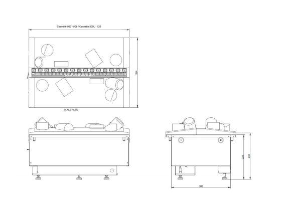 Dimplex Cassette 500R Opti-Myst incl. houtset