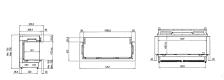 faber e-matrix 1050-400 3 afmetingen